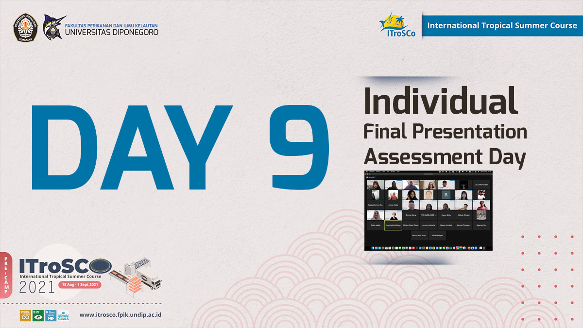 Individual Final Presentation Assessment Day